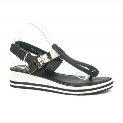 Sandale japanke S6303 crne
