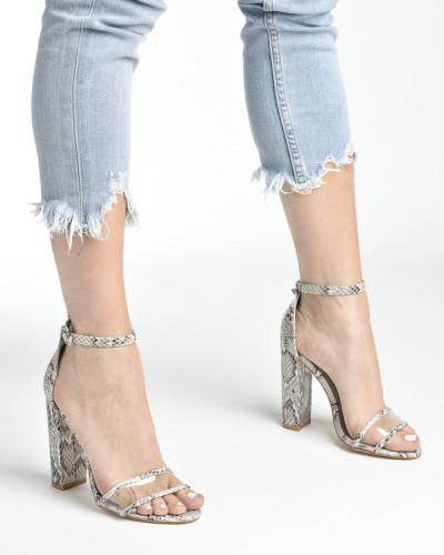 Sandale LS242035zmijski dezen