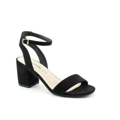 Sandale na malu štiklu LS91560 crne