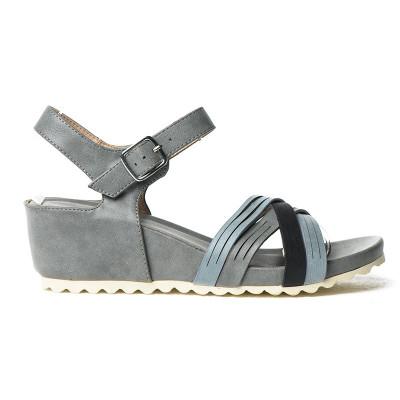 Sandale na ortoped petu F107 plava