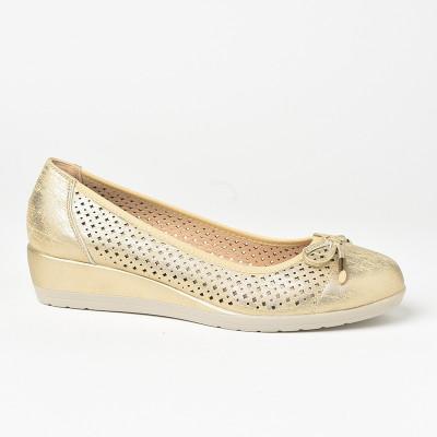 Ženske cipele L761920 zlatne