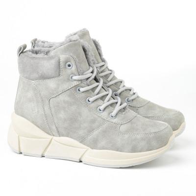Ženske poluduboke cipele LH051400 sive