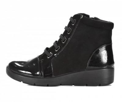 Ženske poluduboke cipele LH082034 crne