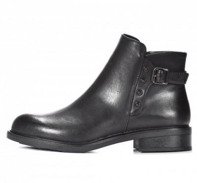 Ženske poluduboke cipele LH292001 crne