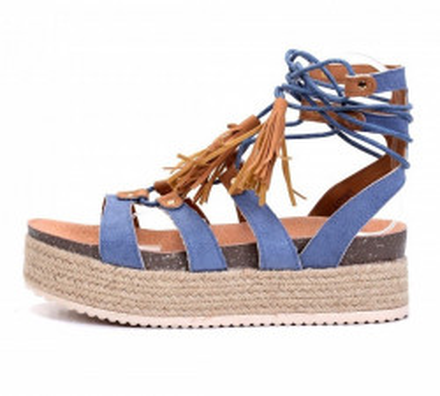 Ženske sandale LS791901 plave