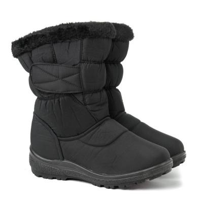 Zimske poluduboke čizme LH050210 crne