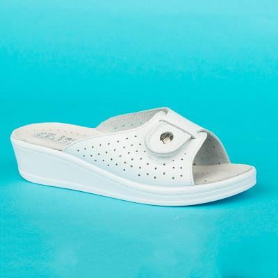 Anatomske papuče MEDICAL 312S bela