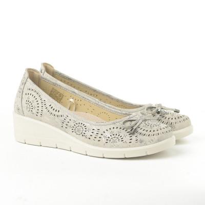 Cipele na malu petu L020607 sive