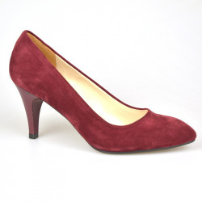 Cipele na malu štiklu LK200 bordo