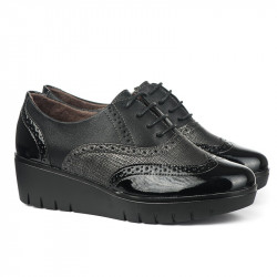 Cipele na pertlanje C1737 crne