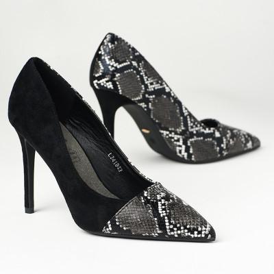 Cipele na štiklu L241942 crne