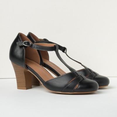 Cipele/sandale na štiklu S400 crne