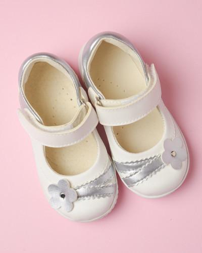 Dečije cipele sa anatomskim uloškom S034 bele