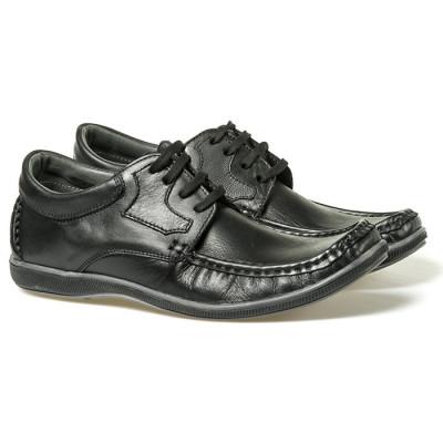 Kožne cipele 777 crne