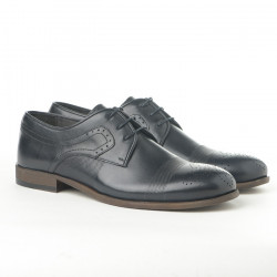 Kožne muške cipele 1781 teget