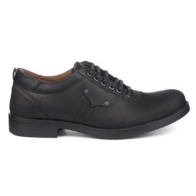 Kožne muške cipele 19167 crne