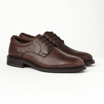Kožne muške cipele 2382 braon