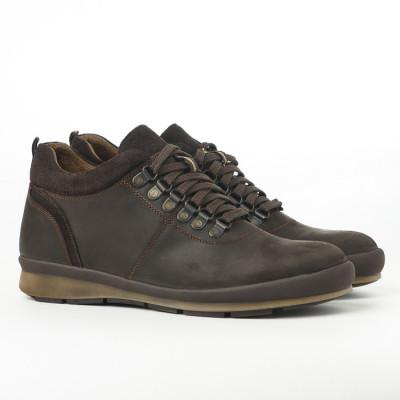 Kožne muške cipele 314 braon