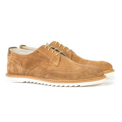 Kožne muške cipele C9604 kamel