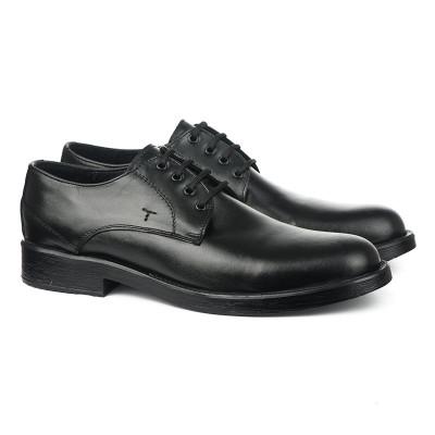 Muške kožne cipele 5767 crne