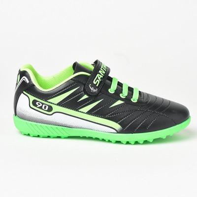 Patike za fudbal 207 crno-zelene