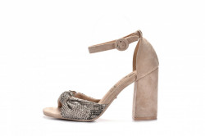 Sandale na štiklu LS242036 bež