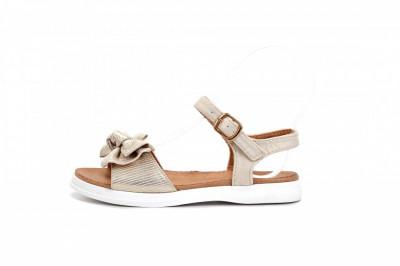 Sandale za devojčice CS271938 zlatne (brojevi od 31 do 36)