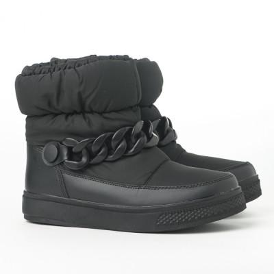 Vodootporne čizme za sneg LH591918 crne