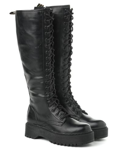 Ženske duboke čizme XT2551 crne