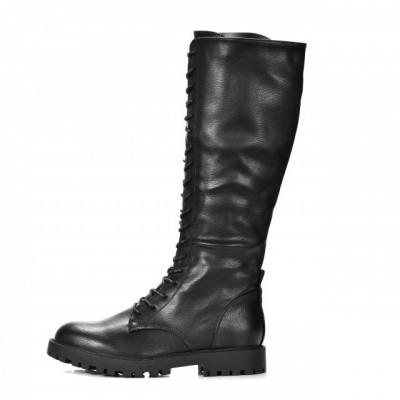 Ženske duboke čizmice LX212024 crne