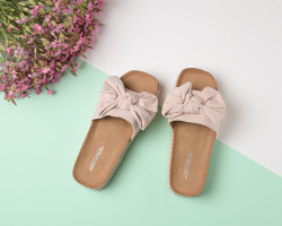 Ženske papuče na debelom đonu LP055602 roze