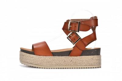 Ženske sandale na debelom djonu LS792100 kamel