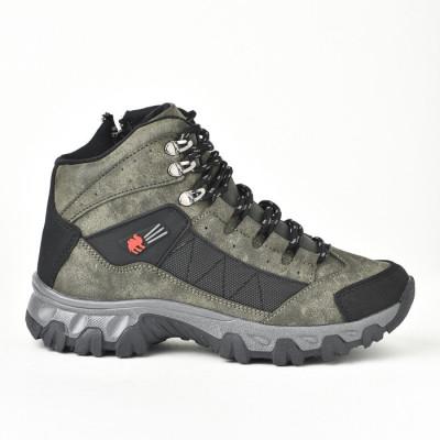 Zimske duboke cipele / patike 4073 zelene (brojevi od 36 do 44)