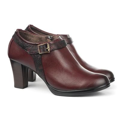 Cipele na štiklu C1673 bordo