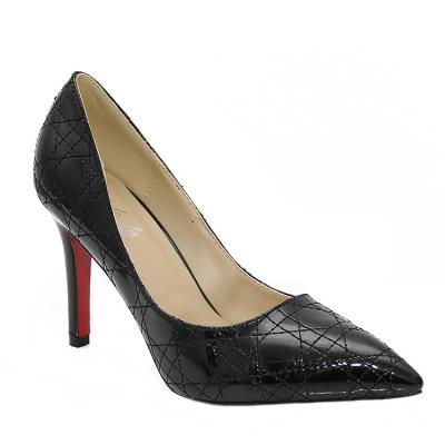 Cipele na štiklu L16108 crne