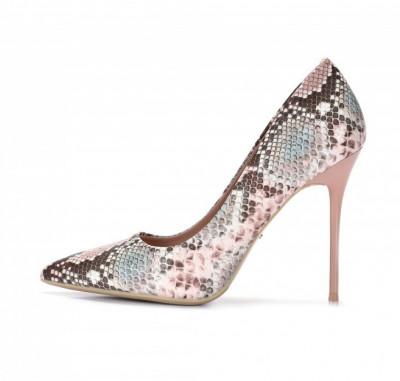 Cipele na štiklu L242009 pink