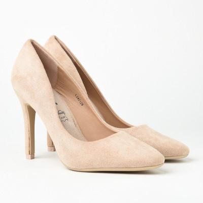 Cipele na štiklu L242129 bež