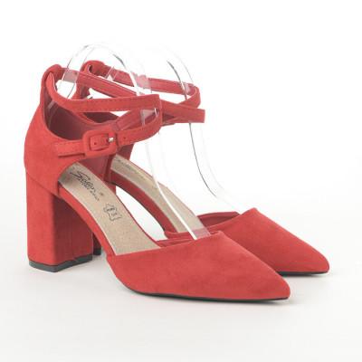 Cipele na štiklu LS242023 crvene