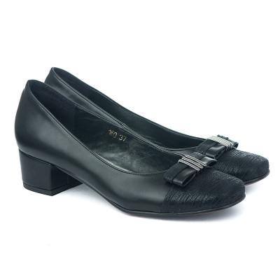 Cipele sa kožnom postavom M-160 KP crne