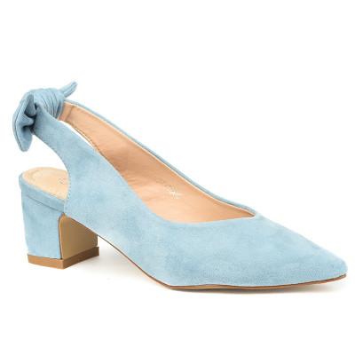 Cipele sa otvorenom petom LS771908 svetlo plave