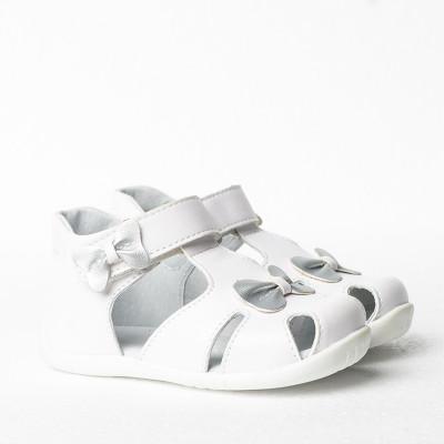Dečije sandale sa anatomskim uloškom S12 bele