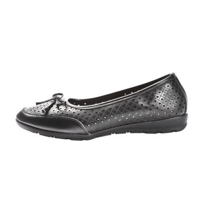 Kožne baletanke/cipele L13A823 crne