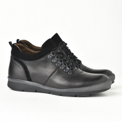 Kožne muške cipele 314 crne