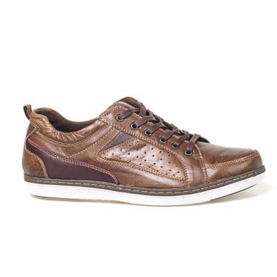 Kožne muške cipele 620 braon