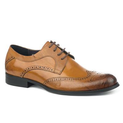 Kožne muške cipele BY320-6 kamel