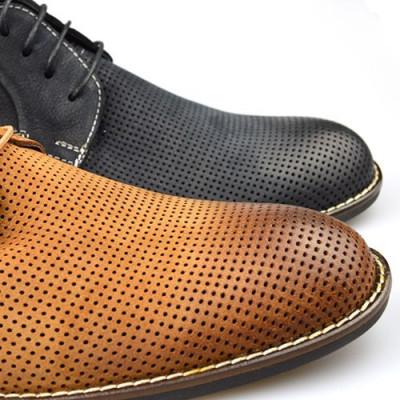 Kožne muške cipele P15628 kamel