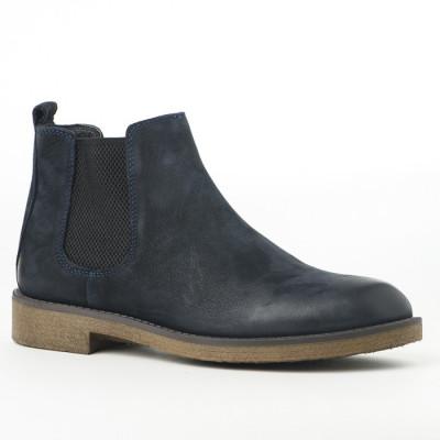 Kožne muške cipele P2050/1895 teget
