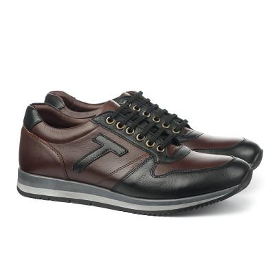 Kožne muške cipele/patike 0290 braon