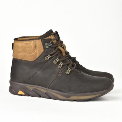 Kožne muške cipele/patike 321 braon