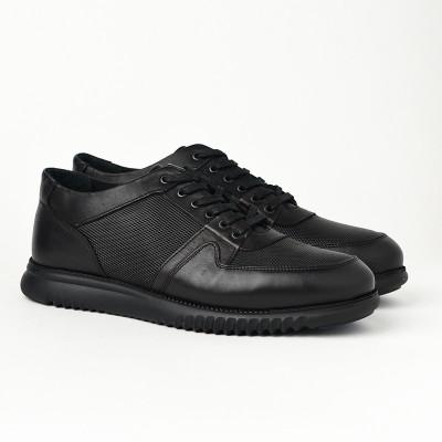 Kožne muške cipele/patike AP8859 crne